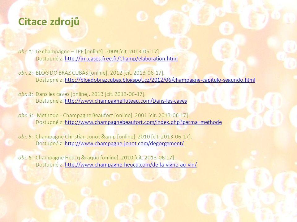 obr.1:Le champagne – TPE [online]. 2009 [cit. 2013-06-17].