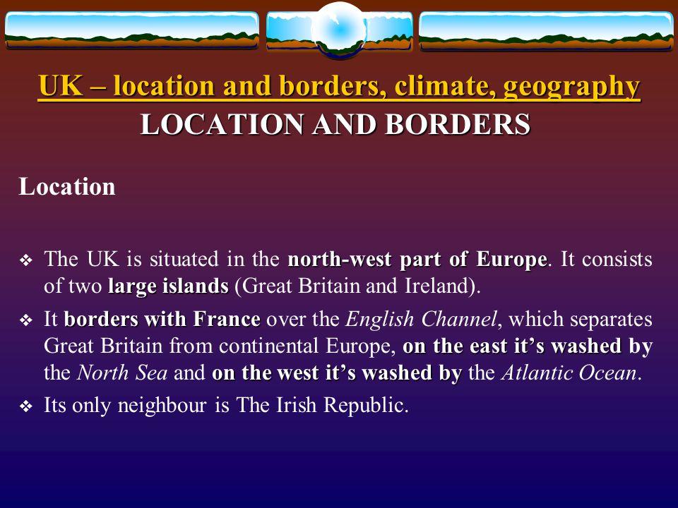 Způsob využití: Způsob využití: určeno pro výklad a procvičení základních znalostí o geografii, klimatu a poloze Spojeného království Velké Británie a Severního Irska.