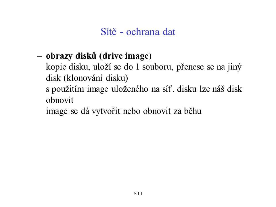 STJ Sítě - ochrana dat 4.