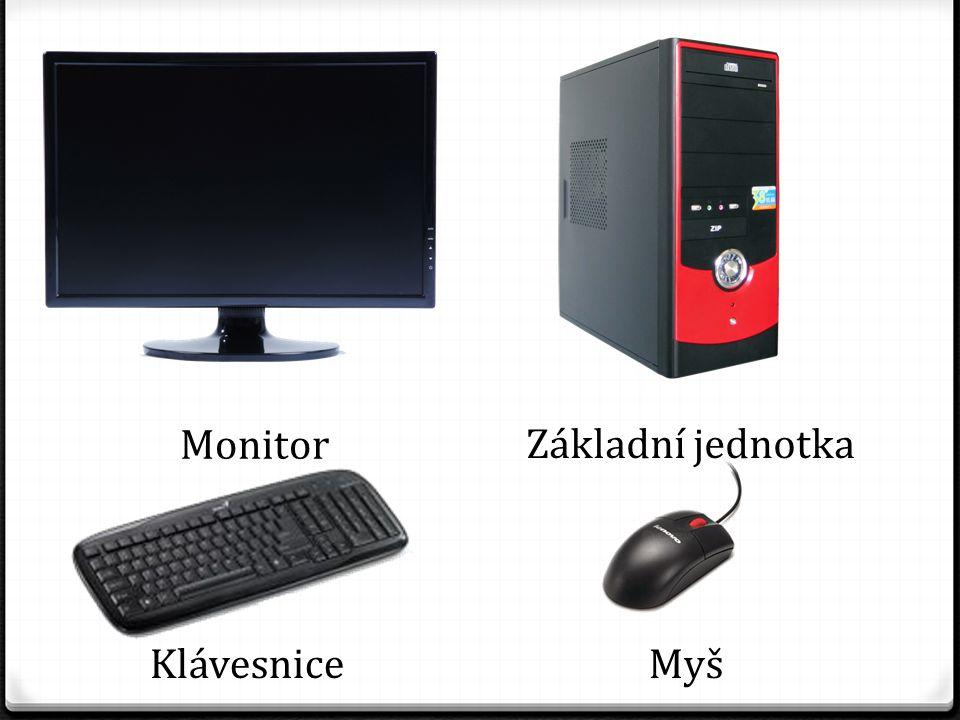 Základní jednotka Monitor KlávesniceMyš