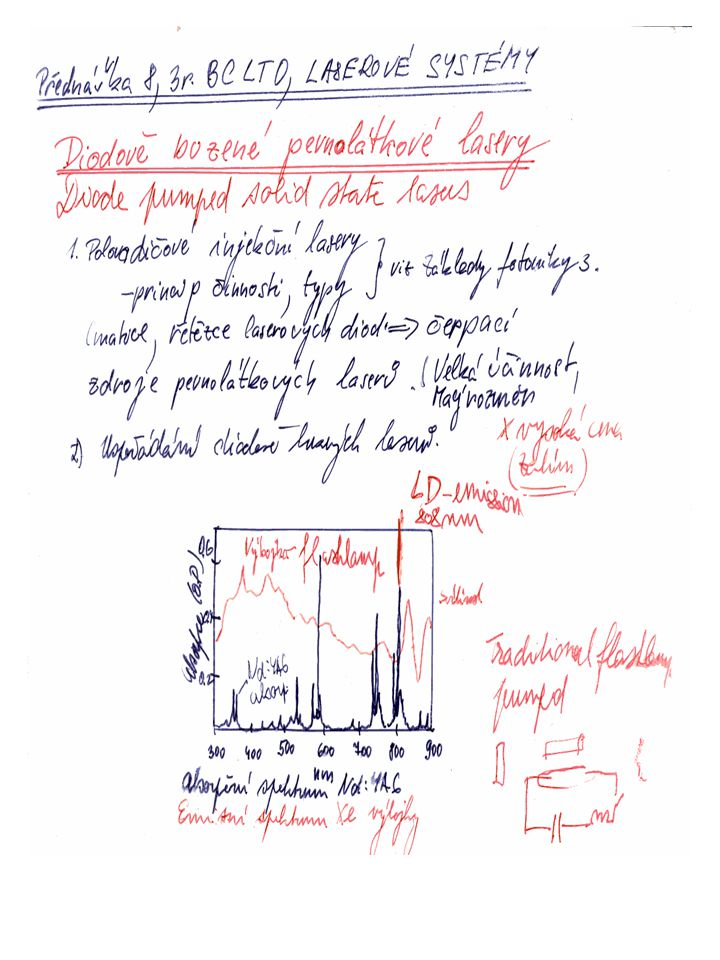 Kvazi kontinuální diodová pole