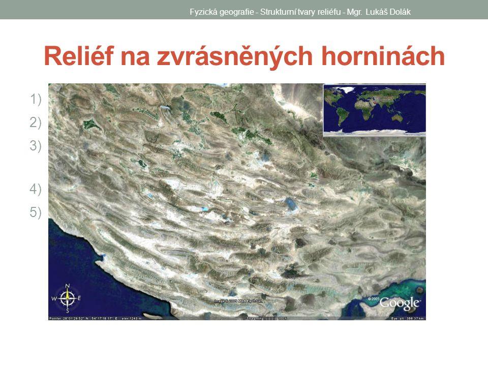 Reliéf na rozlámaných horninách 1) Popište zlomový svah.