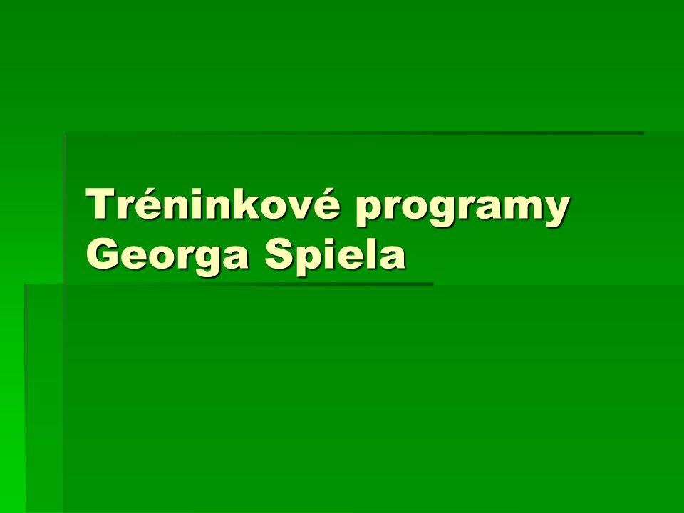 Tréninkové programy Georga Spiela