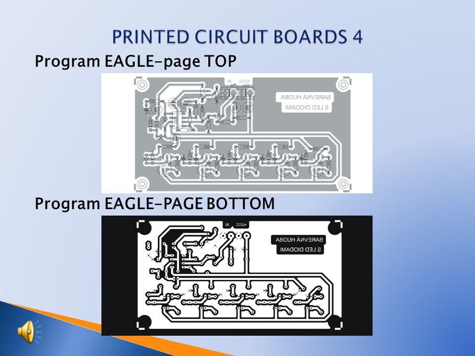 Program EAGLE-page TOP Program EAGLE-PAGE BOTTOM