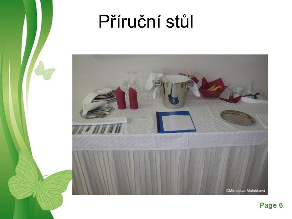 Free Powerpoint TemplatesPage 6 Příruční stůl