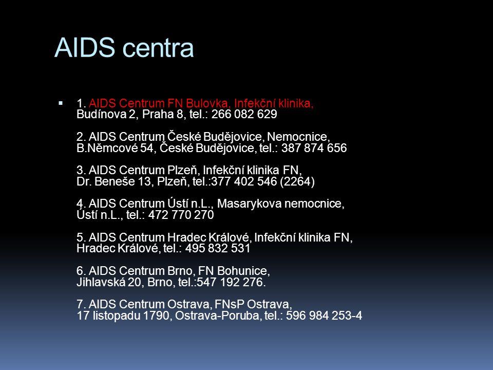 AIDS centra  1.