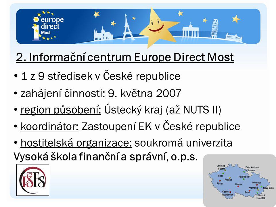 1 z 9 středisek v České republice zahájení činnosti: 9.
