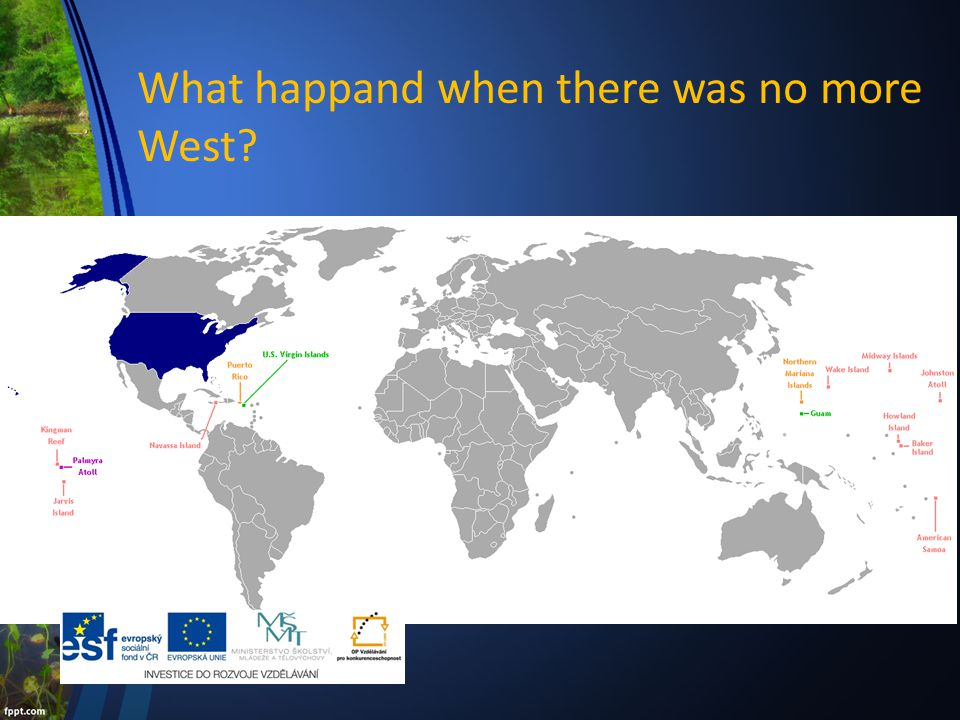 What happand when there was no more West.