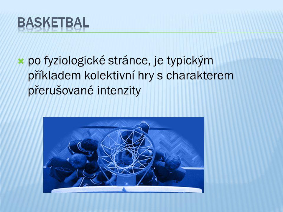  po fyziologické stránce, je typickým příkladem kolektivní hry s charakterem přerušované intenzity