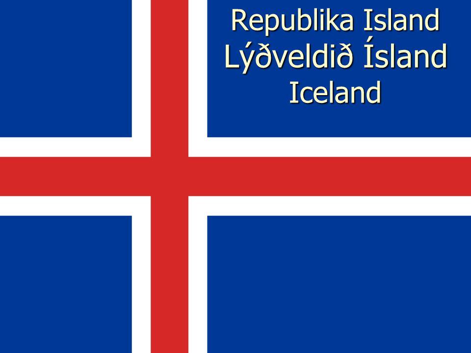 Poloha Island je se svou rozlohou 103 125 km² druhým největším ostrovem v Evropě Island je se svou rozlohou 103 125 km² druhým největším ostrovem v Evropě Jeho břehy jsou od Skotska vzdáleny kolem 800 km, od Norska 970 km, od Grónska 287 km a od Faerských ostrovů 420 km.