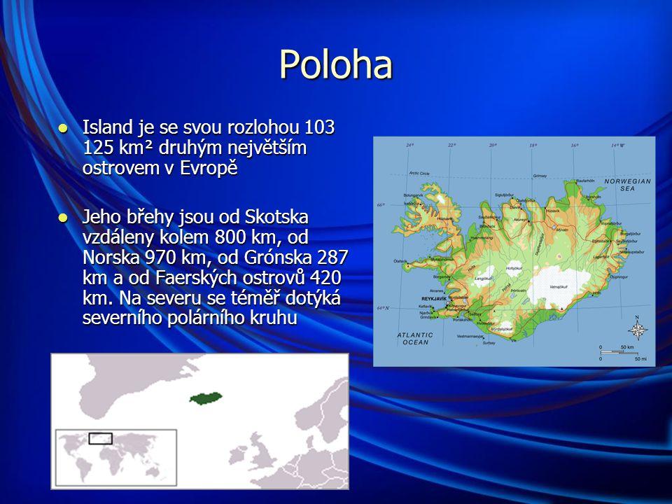 Základní informace Hlavní město: Reykjavík Hlavní město: Reykjavík Rozloha: 103 125 km 2 (107.
