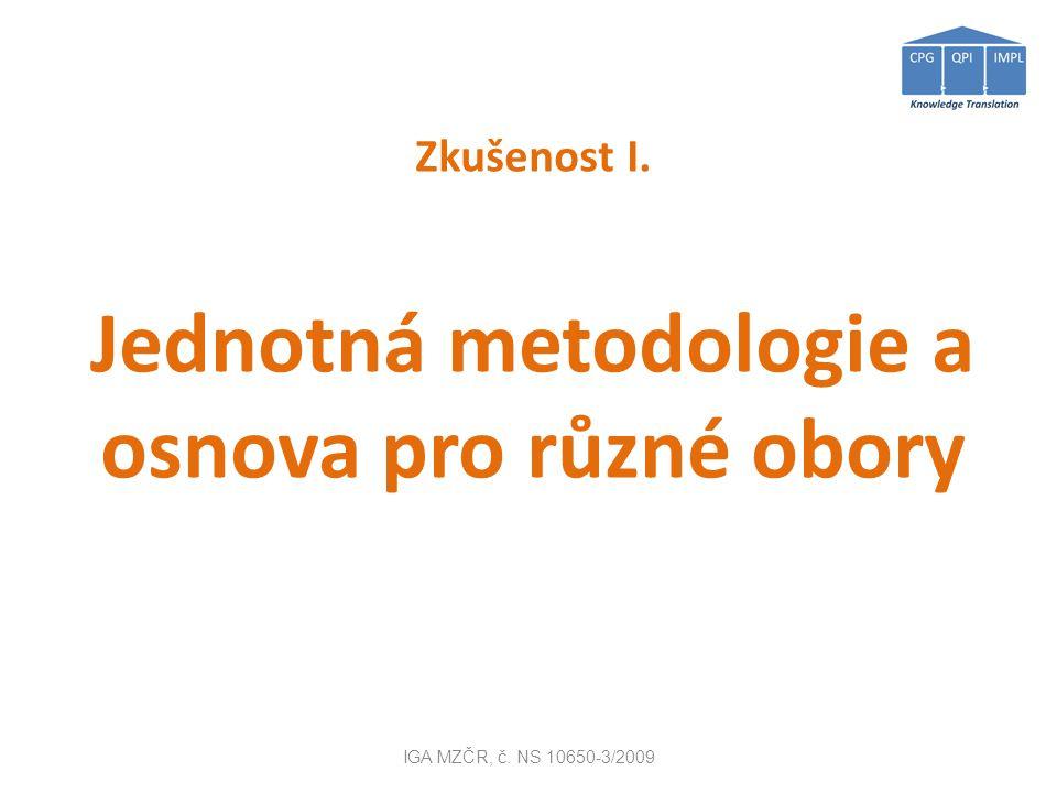 IGA MZČR, č. NS 10650-3/2009