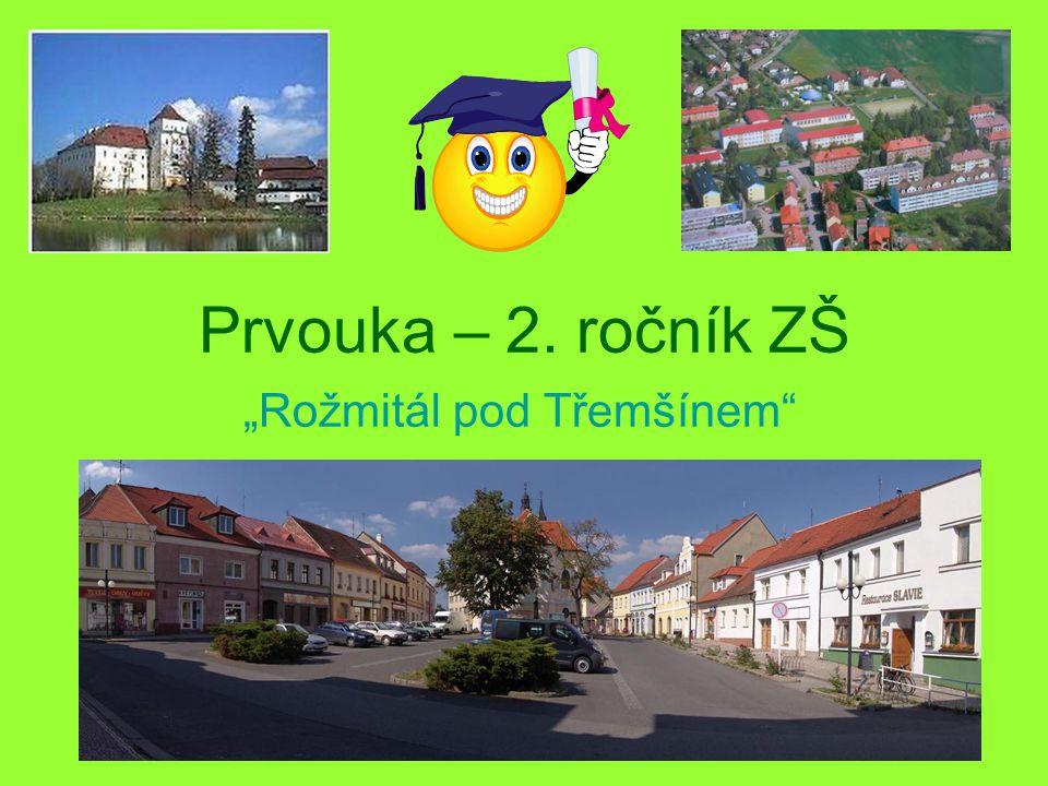 Ve kterém kraji se nachází město Rožmitál pod Třemšínem.