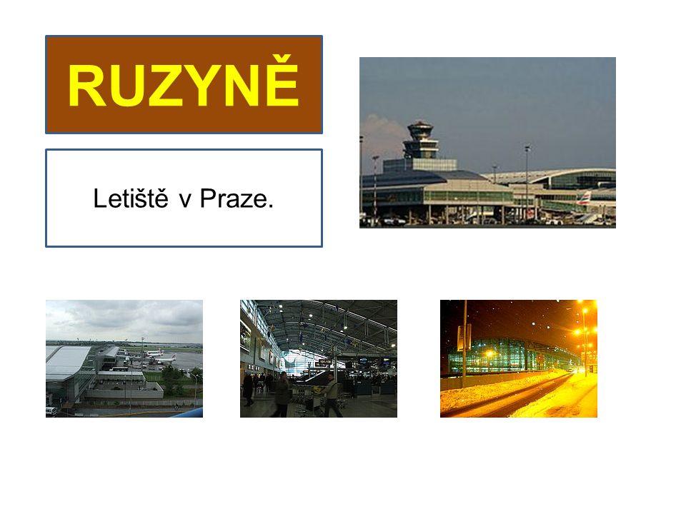 RUZYNĚ Letiště v Praze.