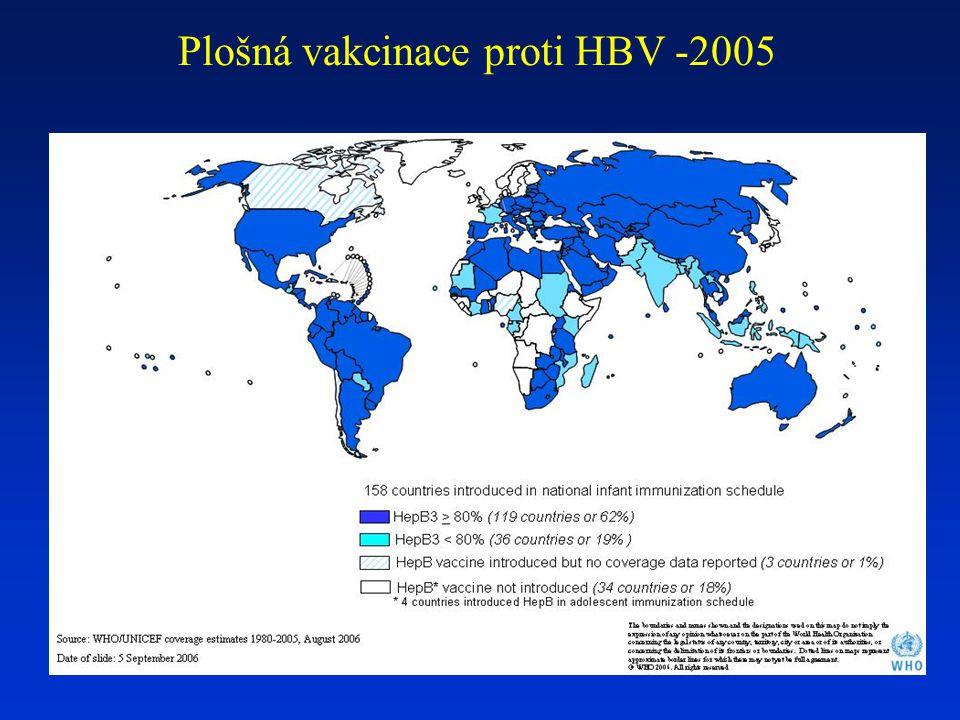 Plošná vakcinace proti HBV -2005