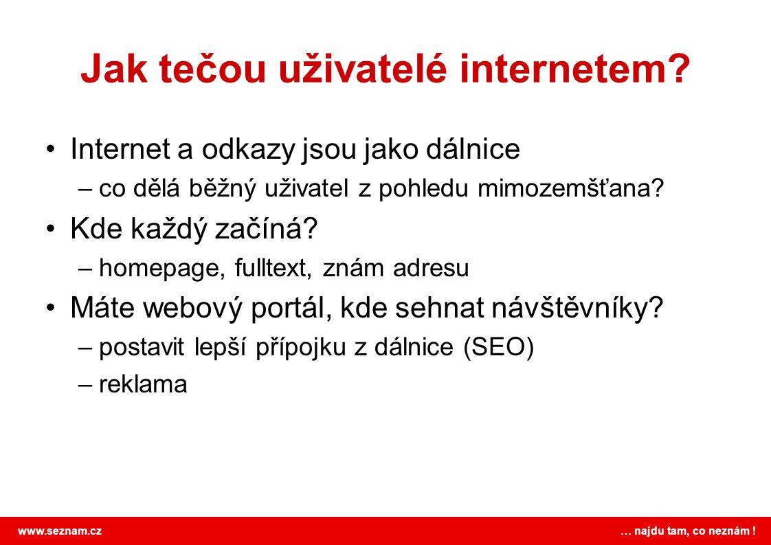 www.seznam.cz … najdu tam, co neznám ! Znovu objevení kola