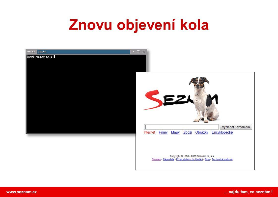 www.seznam.cz … najdu tam, co neznám ! Seznam vs. Google Proč Seznam vydrží?