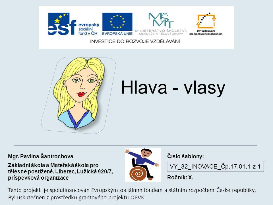 VY_32_INOVACE_Čp.17.01.1 z 1 Hlava - vlasy Mgr.