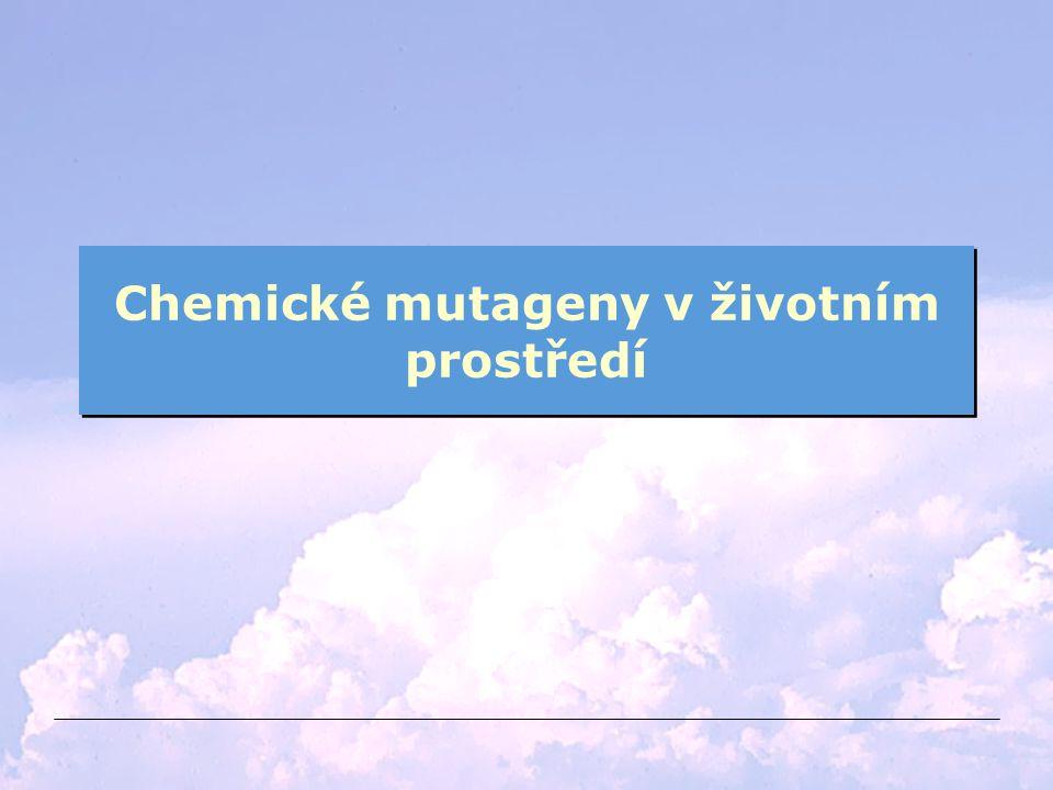 Chemické mutageny v životním prostředí