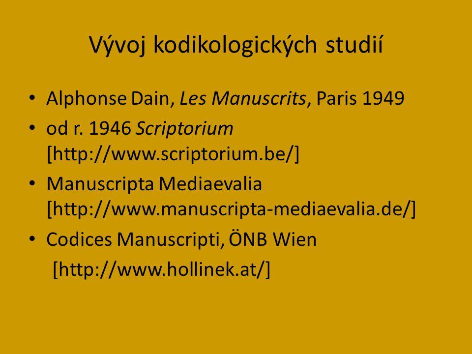 Alphonse Dain, Les Manuscrits, Paris 1949 od r.