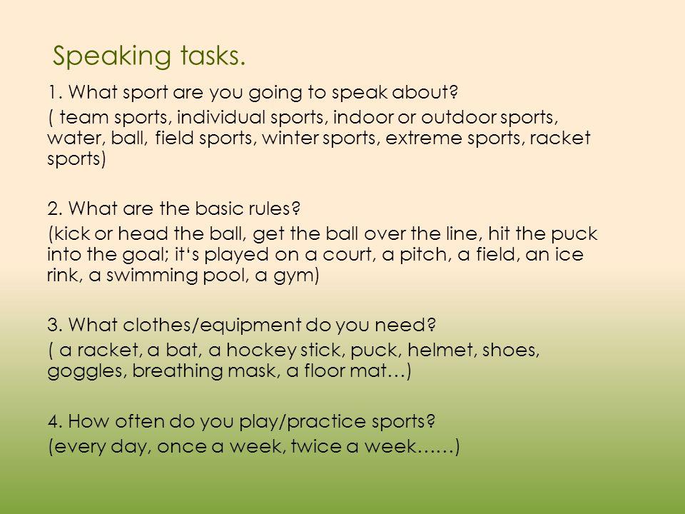 5.Do you enjoy watching sports on TV.