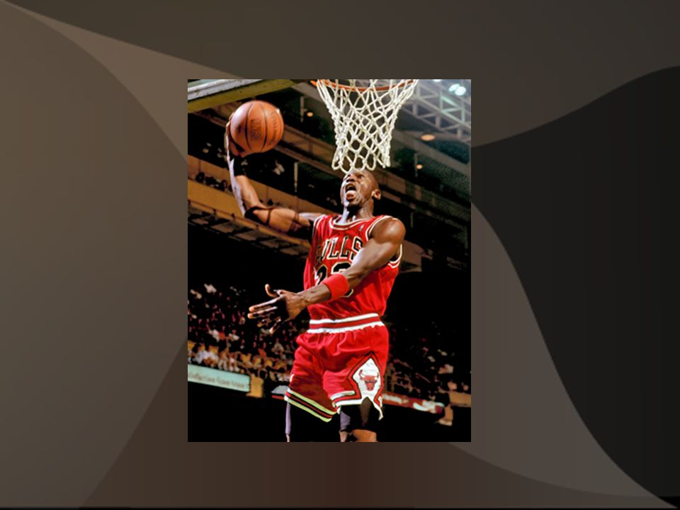 Michael Jordan one of the greatest basketball players to ever play in the NBA.