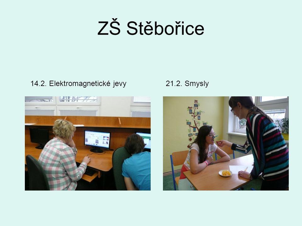 ZŠ Stěbořice 14.2. Elektromagnetické jevy21.2. Smysly
