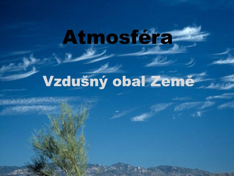 Složení atmosféry