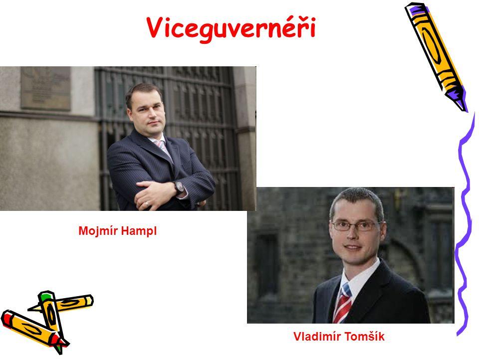 Viceguvernéři Mojmír Hampl Vladimír Tomšík