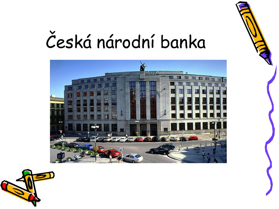 Knihovna ČNB Senovážné nám. 30 (vchod), Praha 1 Po-Čt: 9-17 –Pá: 9-15