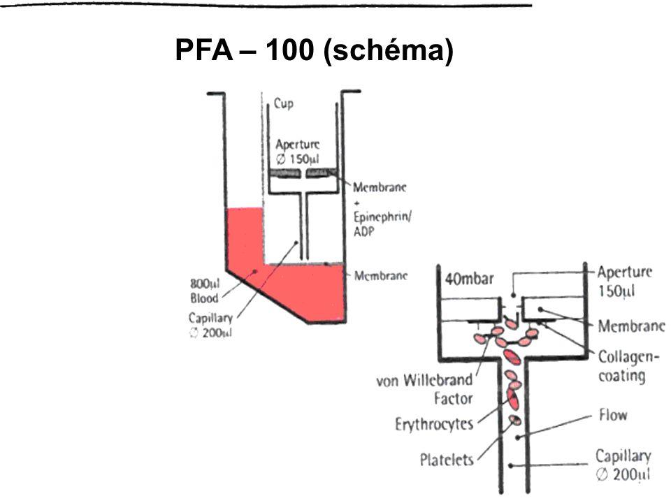 PFA – 100 (schéma)