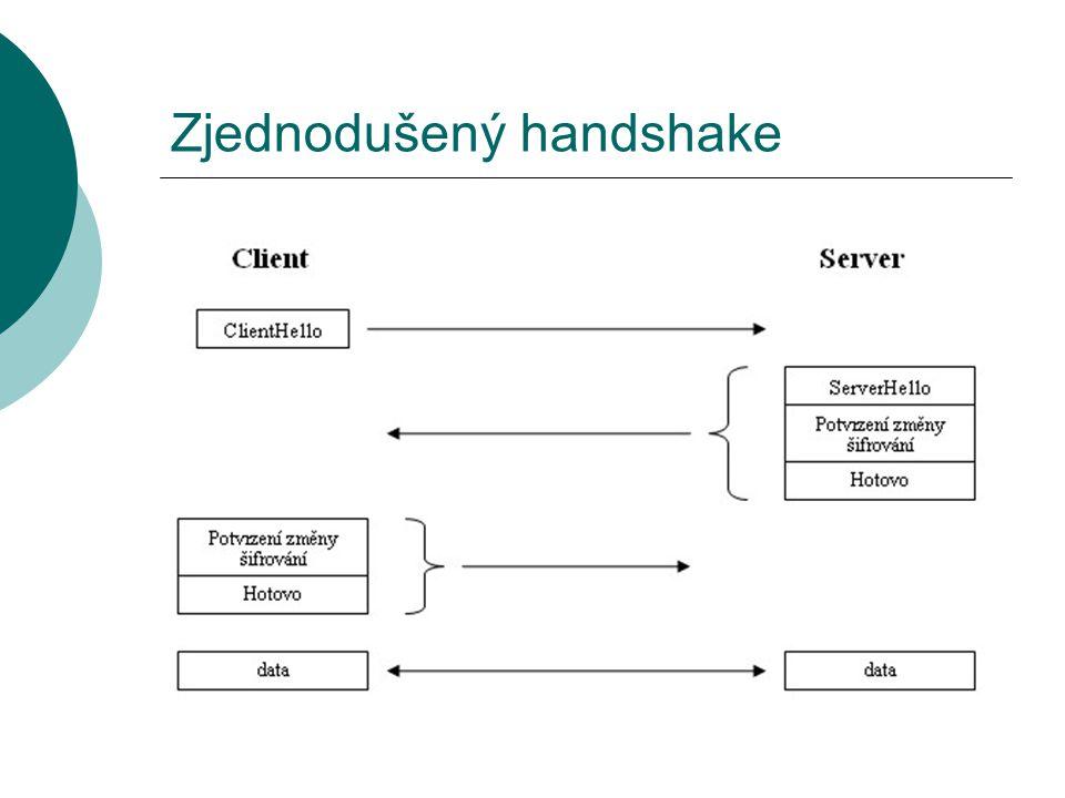 Zjednodušený handshake