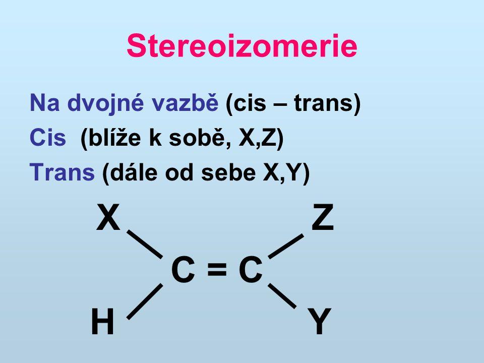 alkanyC n H 2n+2 alkenyC n H 2n metanCH 4 etanCH 3.CH 3 etenCH 2 =CH 2 propanCH 3.CH 2.CH 3 propenCH 2 =CH.CH 3 butanCH 3.CH 2.CH 2.CH 3 butenCH 2 =CH.CH 2.CH 3 pentanCH 3.CH 2.CH 2.CH 2.CH 3 pentenCH 2 =CH.CH 2.CH 2.CH 3 hexanCH 3.CH 2.CH 2.CH 2.CH 2.CH 3 hexenCH 2 =CH.CH 2.CH 2.CH 2.CH 3 Homologické řady uhlovodíků