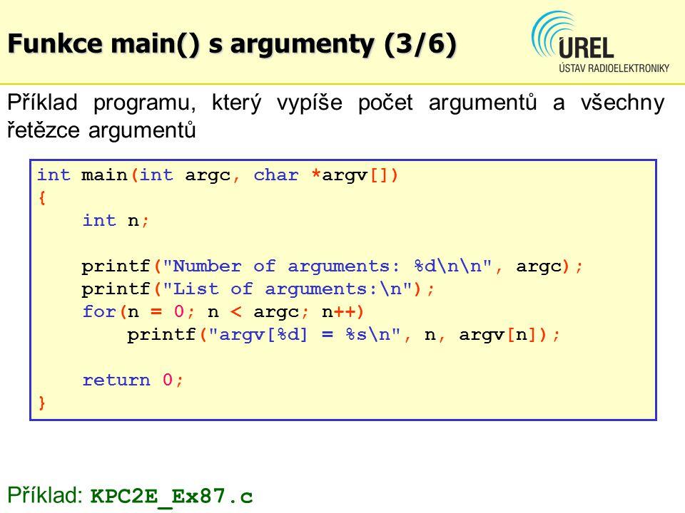 Programování WAV (5/8) fwrite_int(srate, 4, ptrf); // sample rate fwrite_int(srate * 1 * 8 /8, 4, ptrf); // byte rate fwrite_int(1 * 8/8, 2, ptrf); // block align fwrite_int(8, 2, ptrf); // bits per sample, 8 bits fwrite( data , 4, 1, ptrf); // subchunk2id - data fwrite_int(numsa * 1 * 8 / 8, 4, ptrf); // subchunk2 size
