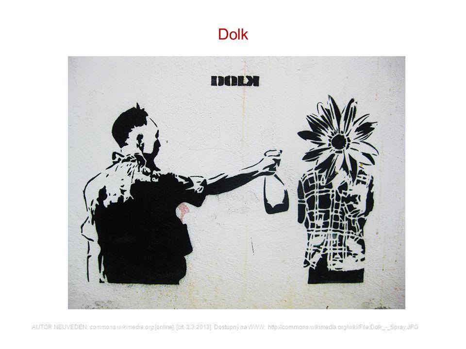 V graffiti doplňte správná políčka na správná místa.