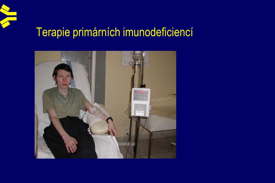Terapie primárních imunodeficiencí
