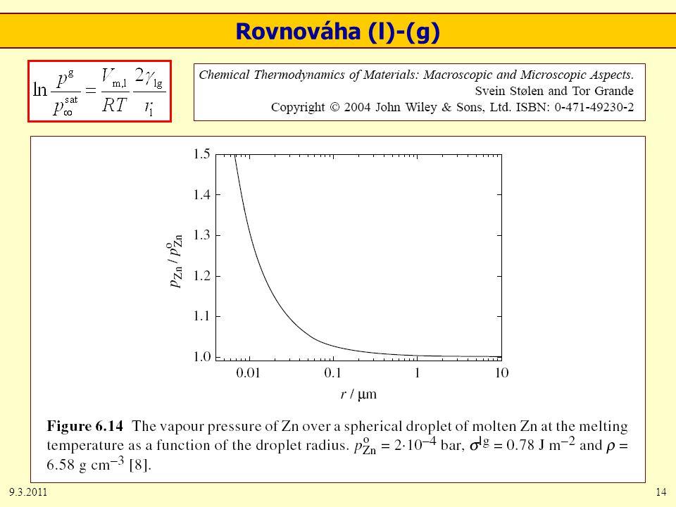 9.3.201114 Rovnováha (l)-(g)