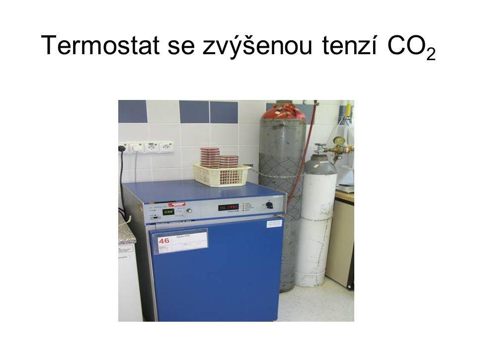 Termostat se zvýšenou tenzí CO 2