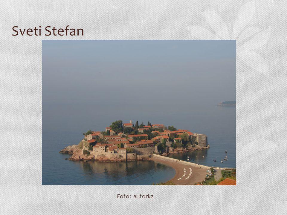 Sveti Stefan Foto: autorka
