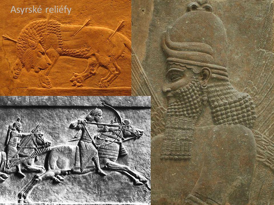 Asyrské reliéfy