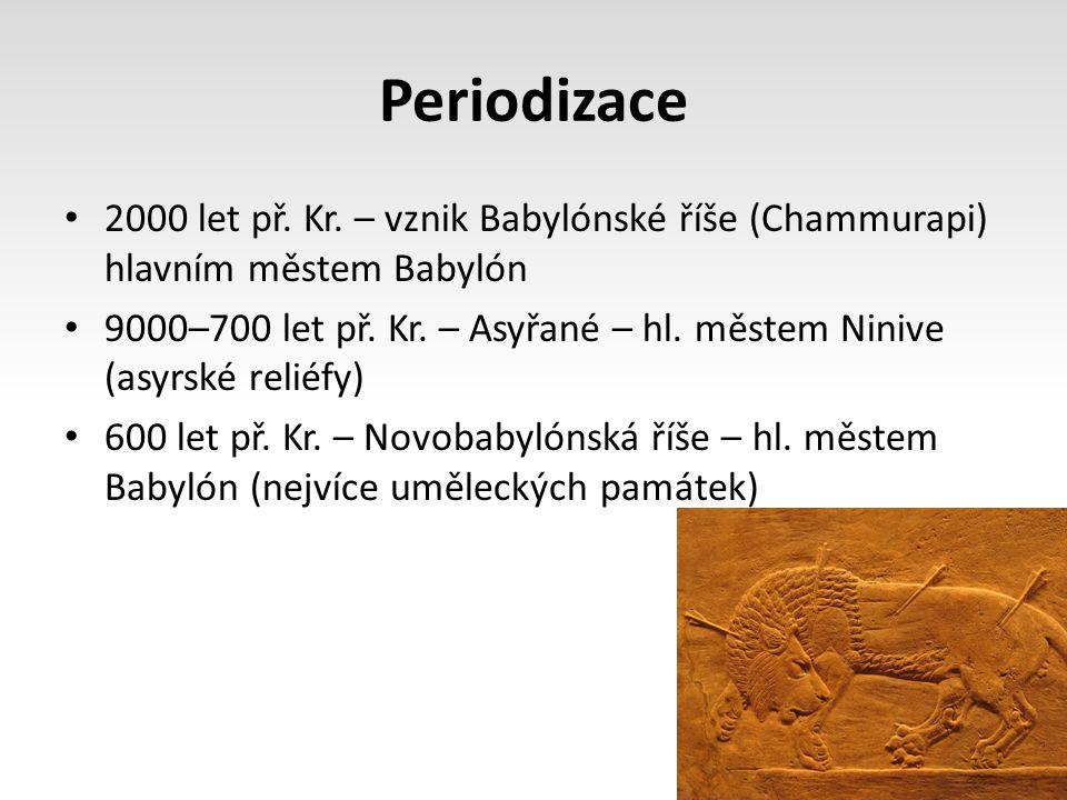 Periodizace 2000 let př.Kr.