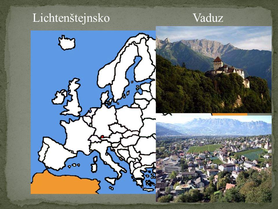 LichtenštejnskoVaduz