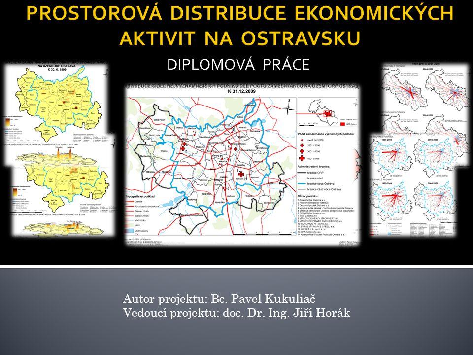 DIPLOMOVÁ PRÁCE Autor projektu: Bc. Pavel Kukuliač Vedoucí projektu: doc. Dr. Ing. Jiří Horák