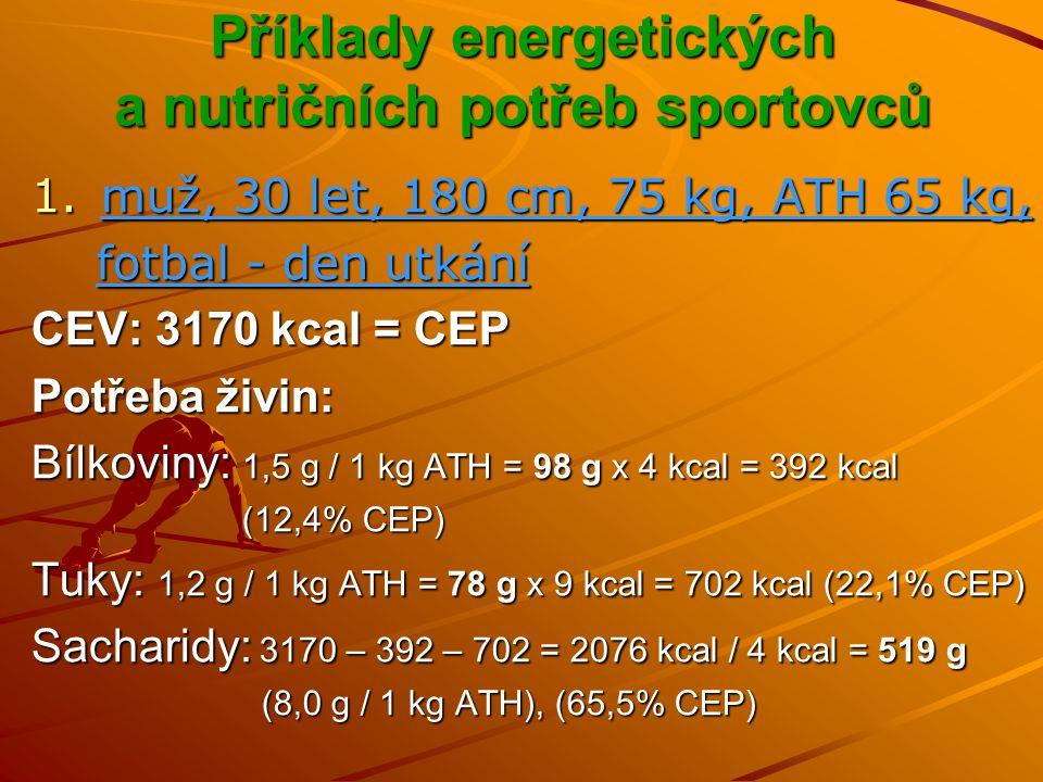 Rozložení stravy v průběhu dne Stravovací plán má tři faktory: - frekvence (kdy - jak často, intervaly mezi jídly) - frekvence (kdy - jak často, intervaly mezi jídly) - kvantita (kolik – objem jídla, energetická hodnota) - kvantita (kolik – objem jídla, energetická hodnota) - kvalita (co – zastoupení živin a mikronutrientů) - kvalita (co – zastoupení živin a mikronutrientů) jídelníček sestavovat s přihlédnutím k dennímu režimu, pracovní době, době plánované fyzické aktivity, rodinným povinnostem… o jídelním režimu, složení stravy přemýšlet dopředu – plánovat celodenní stravu rozložit do menších, rovnoměrně rozložených dávek – jíst každé 2-4 hodiny → 4-6 jídel denně