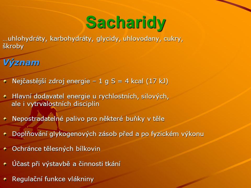Sacharidová superkompenzace Pro koho.