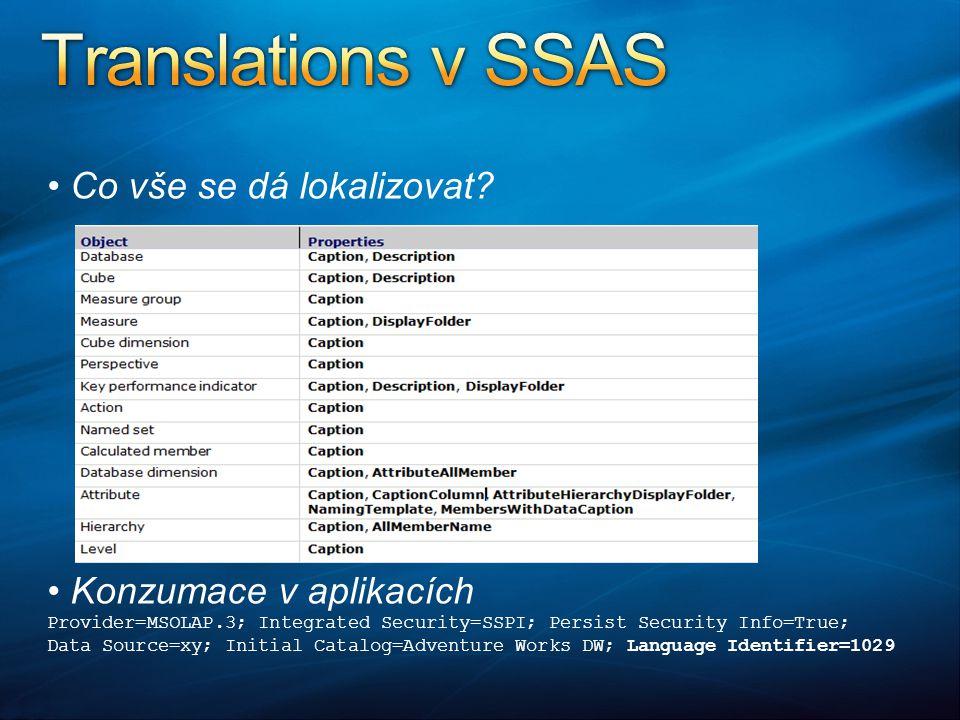 """Nejlevnější řešení pro prezentaci skupiny reportů Volně ke stažení verze pro SQL 2008/2005 Snadno konfigurovatelné Lze přepínat """"native a """"integrated mód Téměř plná funkcionalita jako """"native"""