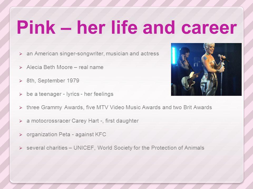 Pink – Dear Mr.