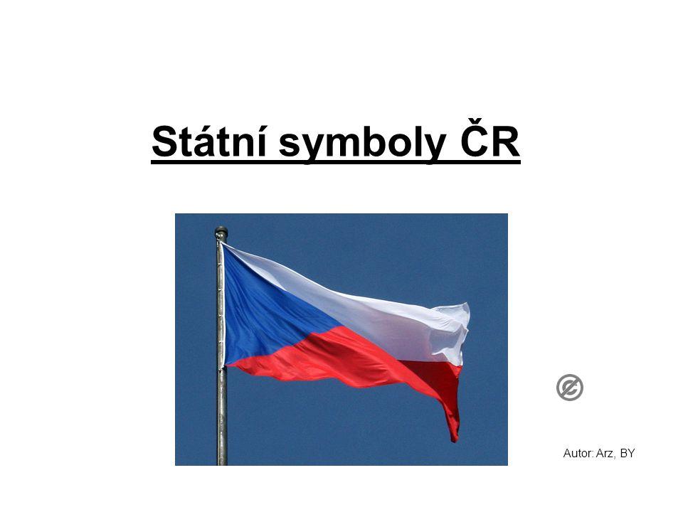 Státní symboly ČR Autor: Arz, BY