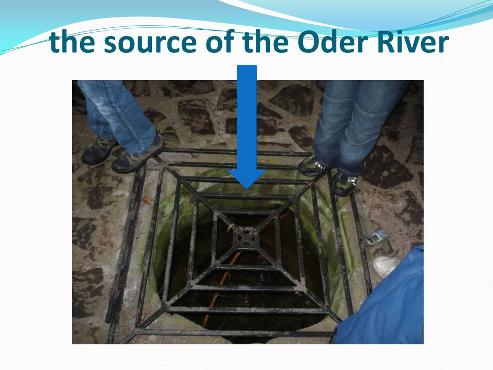 the source of the Oder River