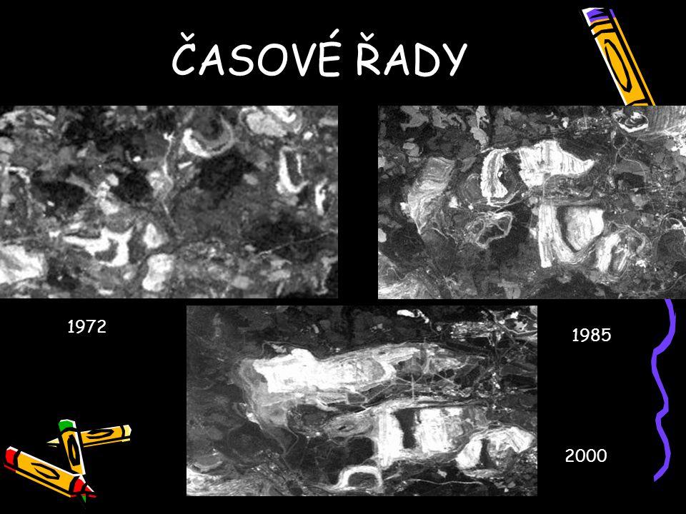 ČASOVÉ ŘADY 1972 1985 2000
